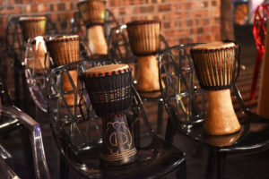 gold-djembe-drum-session